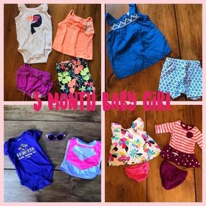 3 Month Baby Girl Bundle